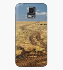 Down the Dusty Road Case/Skin for Samsung Galaxy