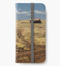 Down the Dusty Road iPhone Wallet/Case/Skin