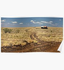 Down the Dusty Road Poster