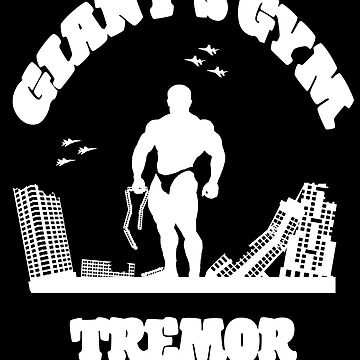 Giant's Gym: Tremor (white) by KingJoftheL
