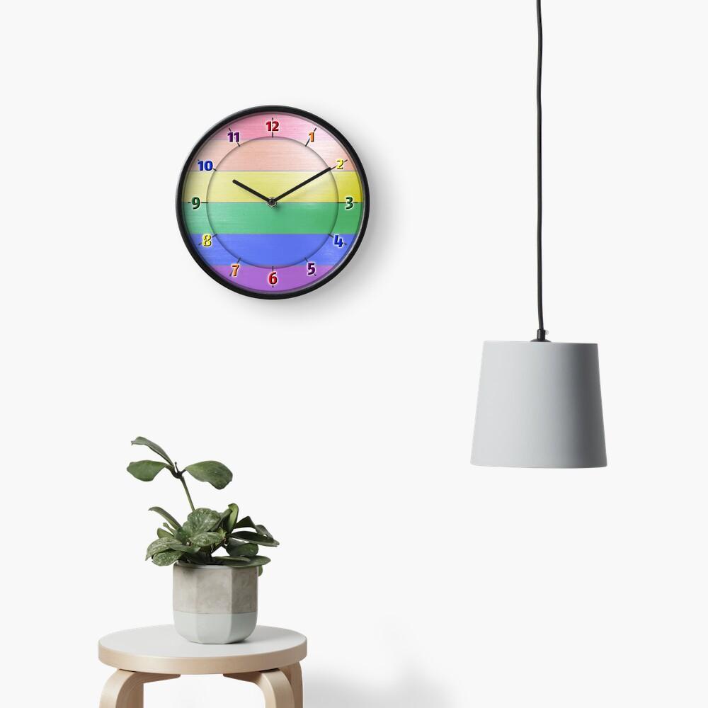 Rainbow PRIDE - Rainbow Clock
