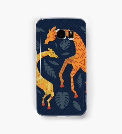 Dancing Giraffes with Patterns Samsung Galaxy Case/Skin