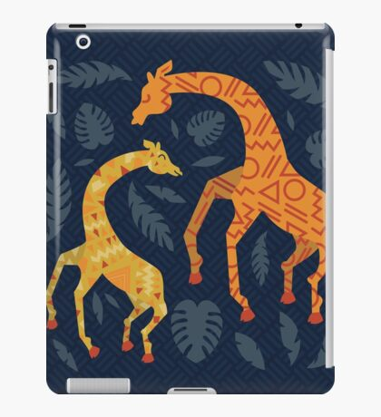 Dancing Giraffes with Patterns iPad Case/Skin