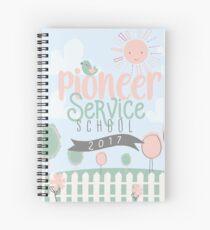 Pioneer Service School 2017 (Design no. 1) Spiral Notebook
