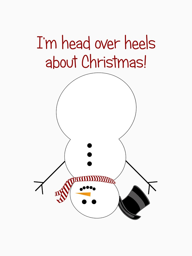 Head Over Heels Snowman by Designedwithtlc