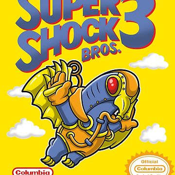 Super Shock Bros 3 Sticker by JakGibberish
