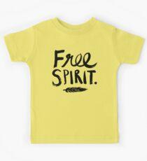 Free Spirit Kids Tee