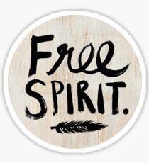 Freier Geist Sticker