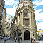 Santiago Stock Exchange Building by Graeme  Hyde