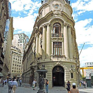 Santiago Stock Exchange Building by grmahyde