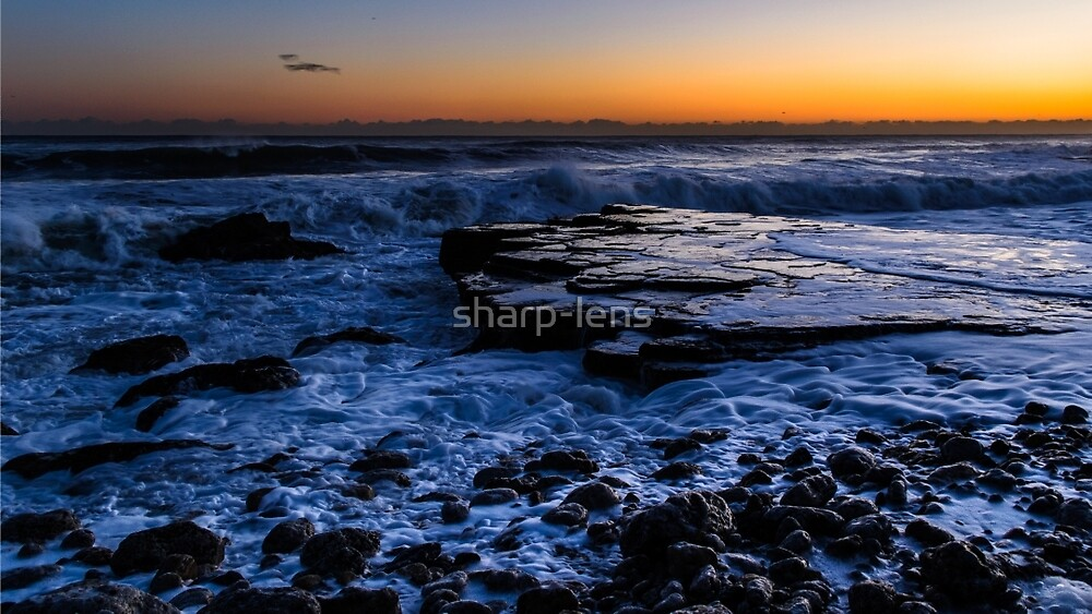 Rocky beach by sharp-lens