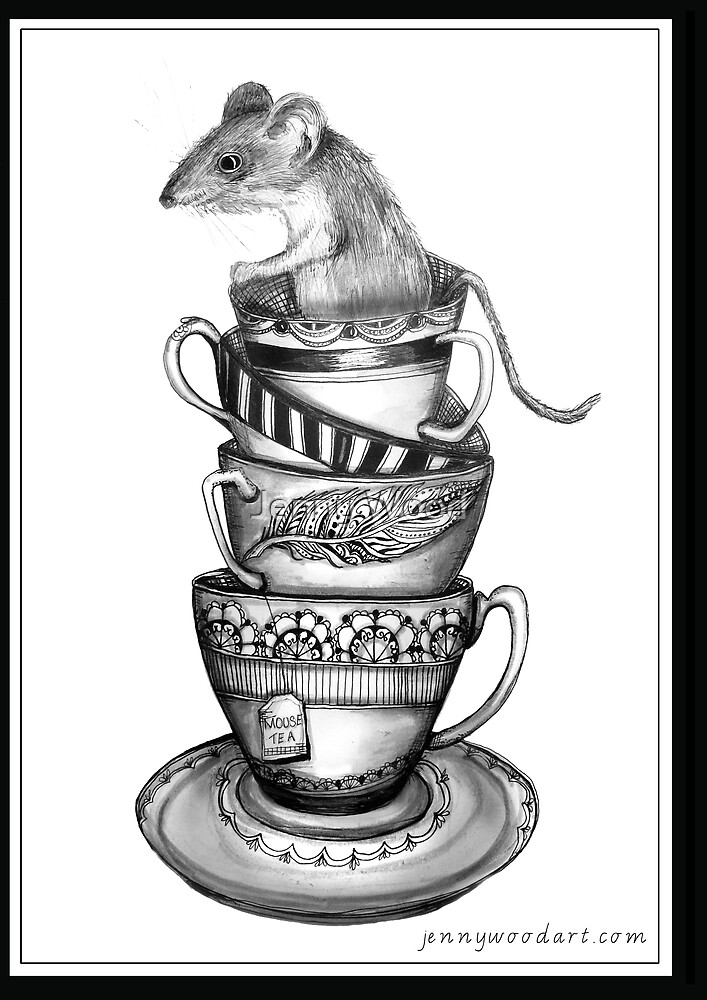 Mouse tea by Jenny Wood