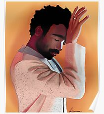 Donald Glover - Kindlicher Gambino Poster
