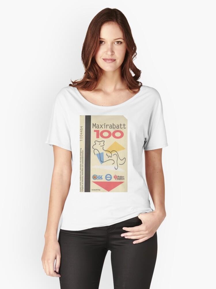 Maxirabatt Women's Relaxed Fit T-Shirt Front