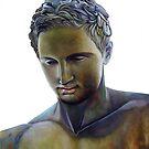 Apoxyomenos - Greek Statue by Matthew  Bates