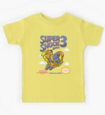 Super Shock Bros 3 Kids Tee
