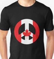 Canadian Peace Sign T-Shirt