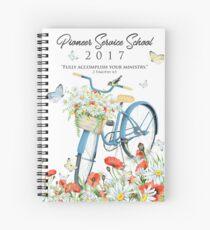 Pioneer Service School 2017 (Design no. 2) Spiral Notebook