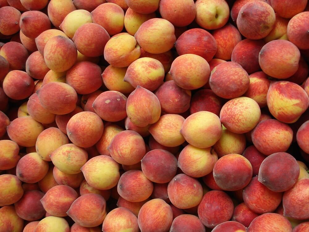 cute peaches by kveta