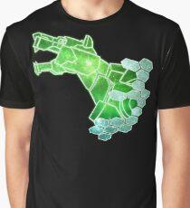 Green Lion Roar Graphic T-Shirt