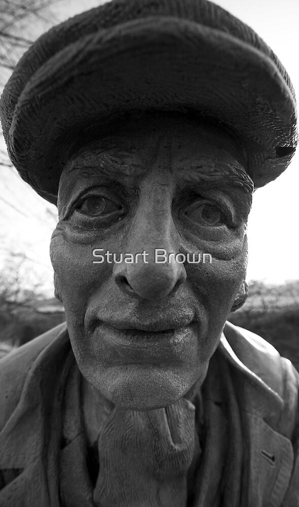 sculpture by Stuart Brown