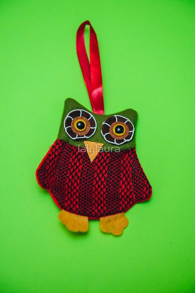 Cute owl decoration by lalylaura