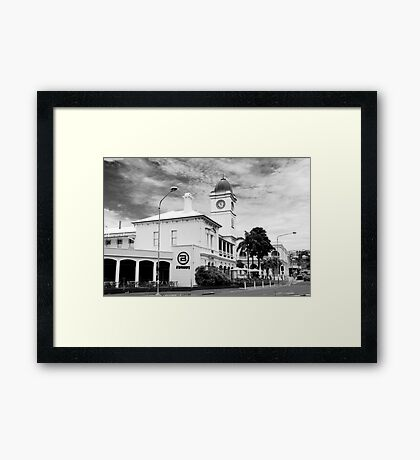 """Post Office Townsville - Now a pub """"The Brewery"""" Framed Print"""