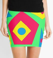 Abstract Design Mini Skirt