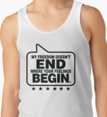Speak Freely T-Shirt  Tank Top