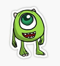 Young Mike Wazowski Sticker