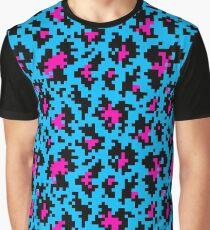 8 bit old school leopard Graphic T-Shirt