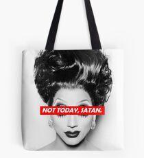 Not Today Satan 003 Tote Bag