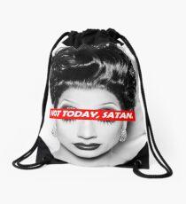 Not Today Satan 003 Drawstring Bag