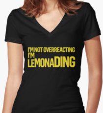 Lemonading (Titus) Women's Fitted V-Neck T-Shirt
