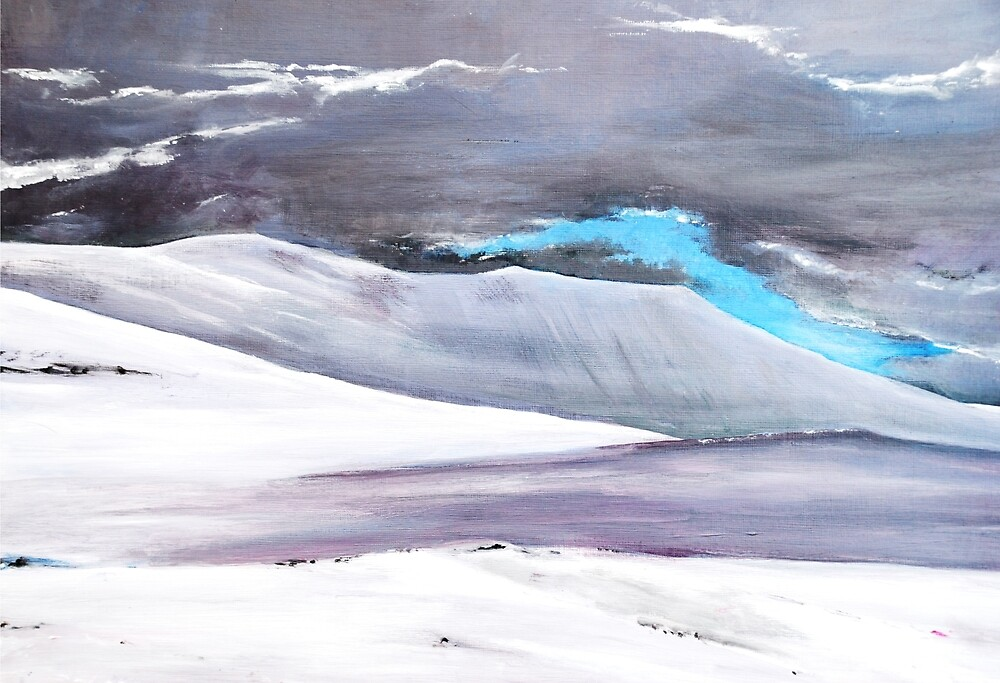 Over Skiddaw by Susan Harley