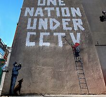 CCTV by banksy by Respire