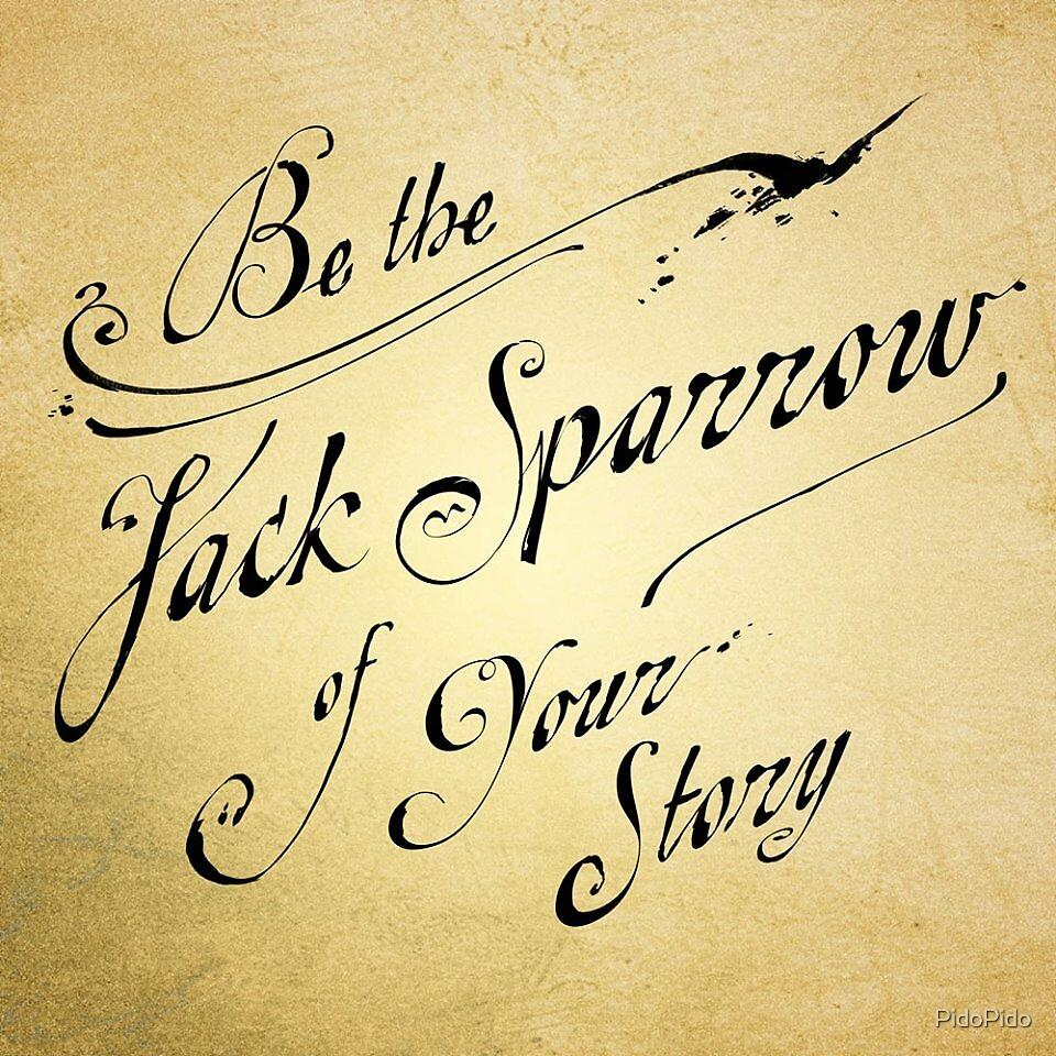 Captain Jack Sparrow Proverb by PidoPido