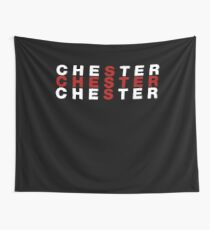 Chester United Kingdom Flag Shirt - Chester T-Shirt Wall Tapestry