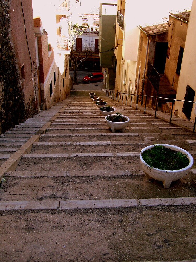 Port Bou, French-Spanish Border Town by EllenMaree