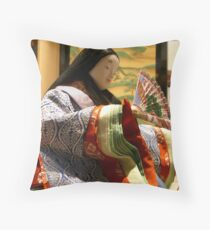 Murasaki Throw Pillow