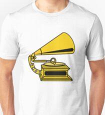 PHONOGRAPH GRAMOPHONE OLD SCHOOL  T-Shirt