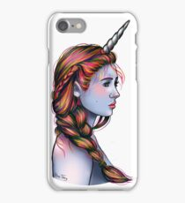 Unicorn Girl iPhone Case/Skin
