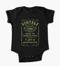 Green Vintage Limited 2000 Edition - 17th Birthday Gift Kids Clothes