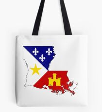 Cajun Louisiana Tote Bag