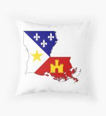 Cajun Louisiana Throw Pillow