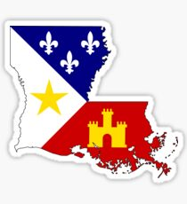Cajun Louisiana Sticker