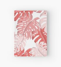 Tropical Monstera Print Hardcover Journal