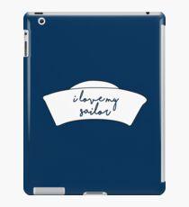 I Love My Sailor iPad Case/Skin