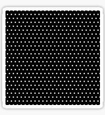 Polka / Dots - Black / White - Small Sticker