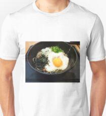 Raw egg on soba T-Shirt